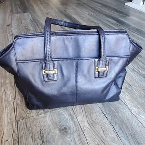 COACH Taylor Leather Alexis Carryall Tote